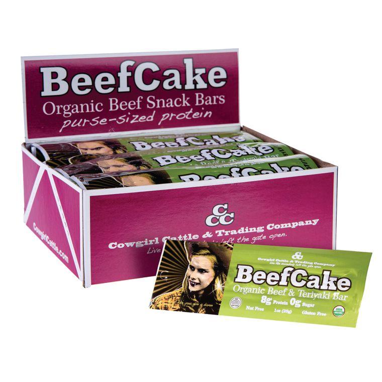 Organic BeefCake Bars