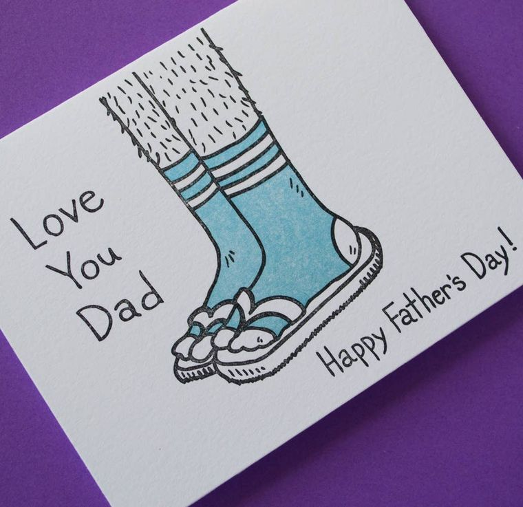 Love You Dad  Father's Day, Card