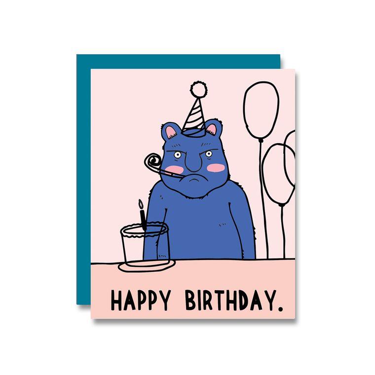 Harold Birthday, Card