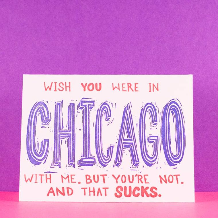 Wishing Chicago, Card