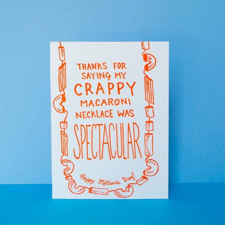 Macaroni Mom, Card