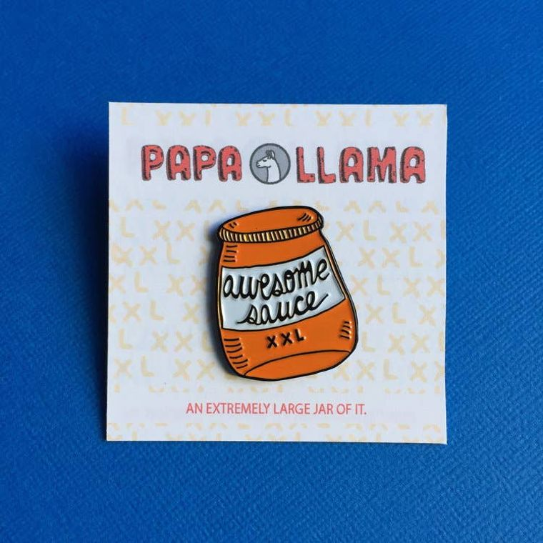Awesome Sauce, Pin