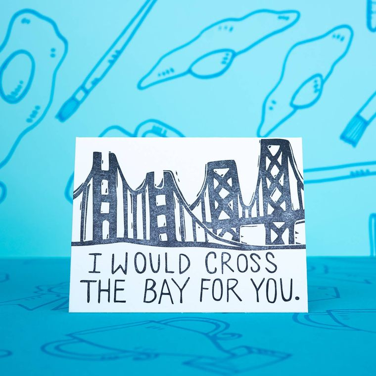 Cross The Bay, Card