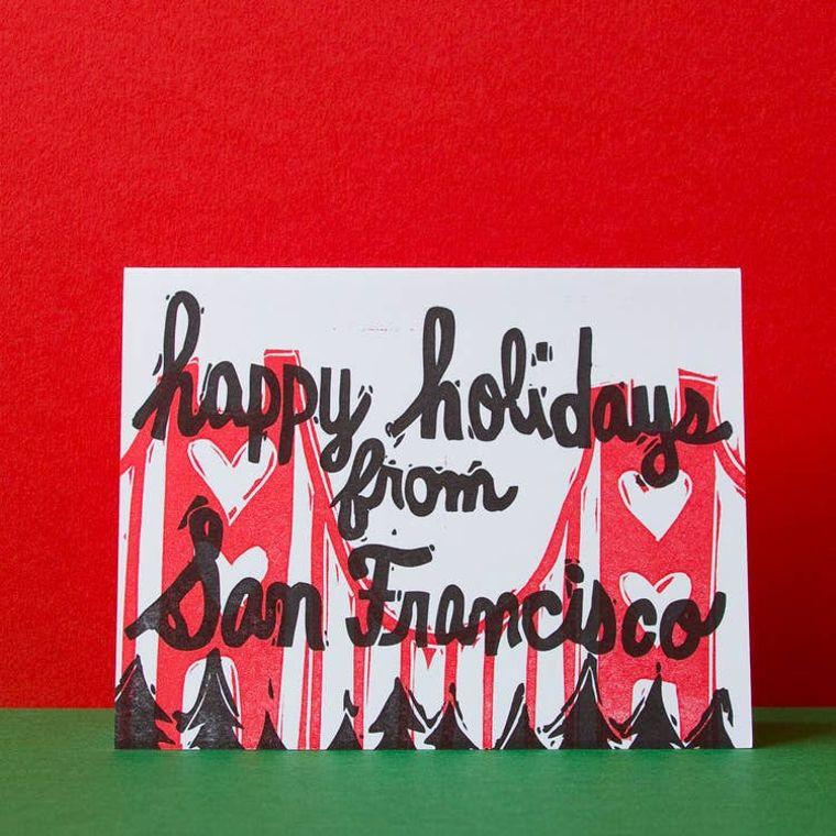 SF Holiday, Card