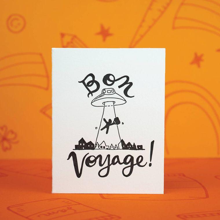 Bon Voyage, Card