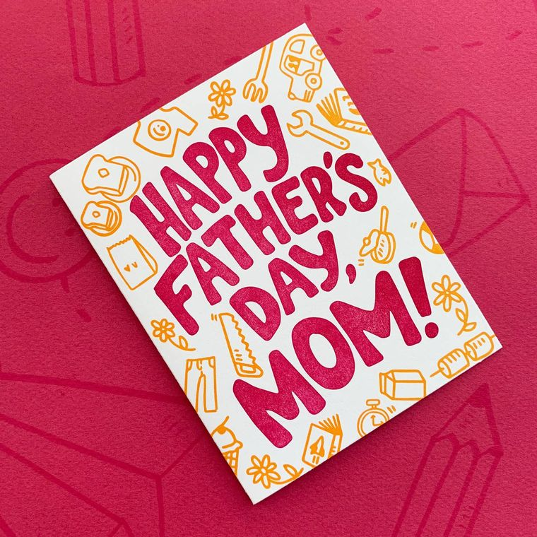 Single Mamas, Mother's Day Card