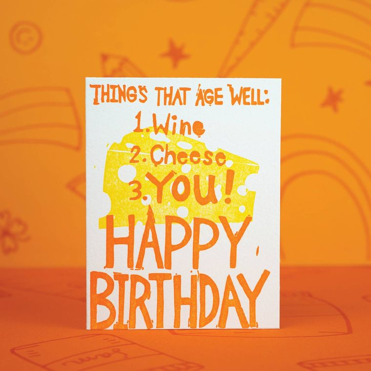 Aged Well Birthday, Card