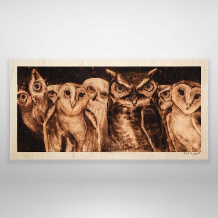 The Owlery (Parliament of owls, medium)