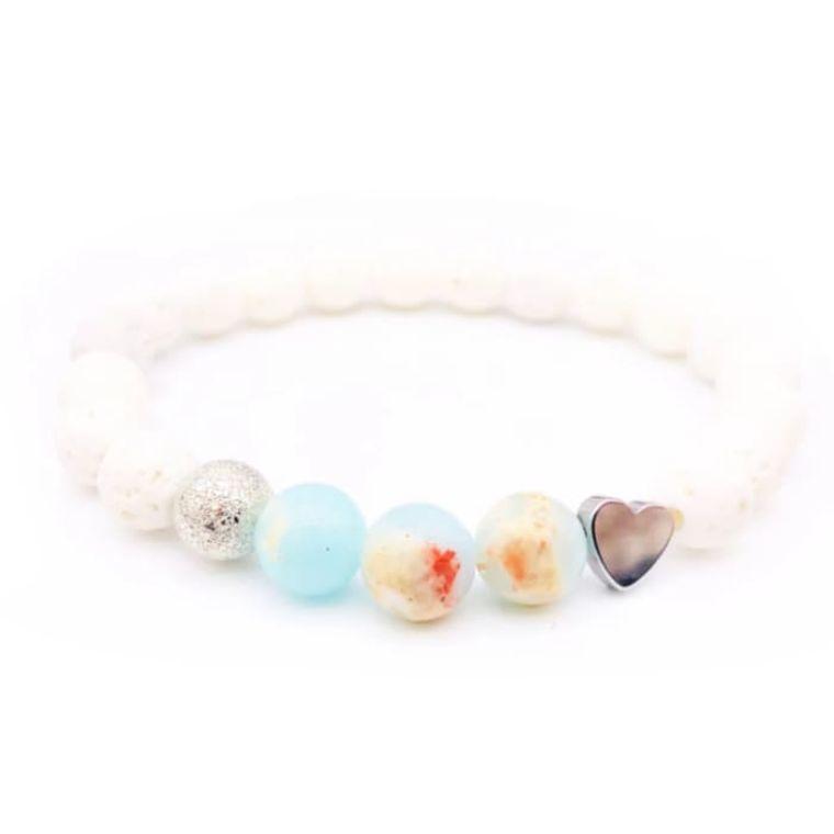 Sky Lava Stone Bracelet