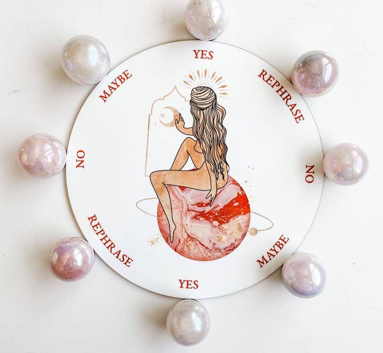 Planet Goddess Pendulum Board - 8 inch