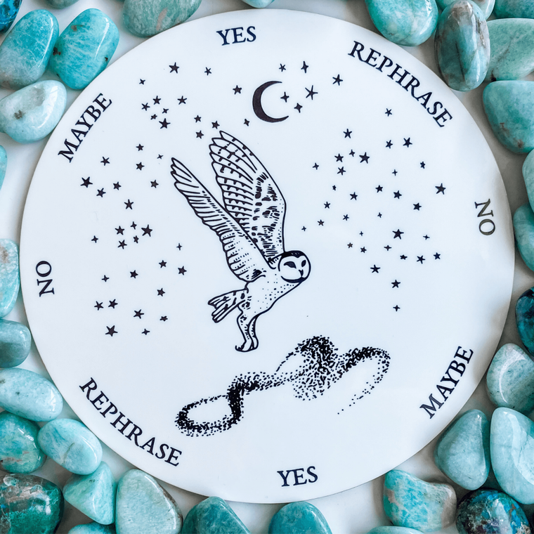 Owl Pendulum Board - 8 inch
