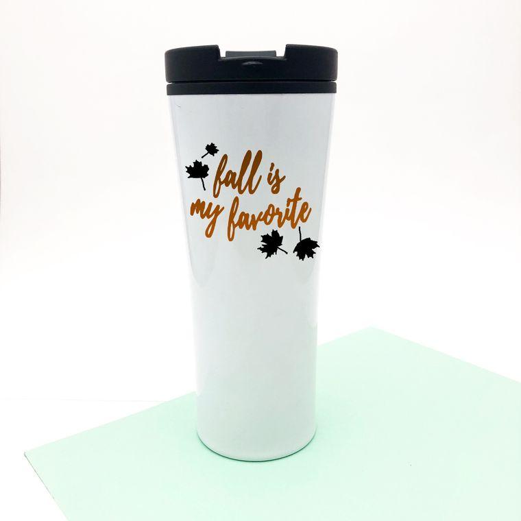 Fall Is My Favorite Coffee Mug, Fall And Halloween Mugs, Stainless Steel