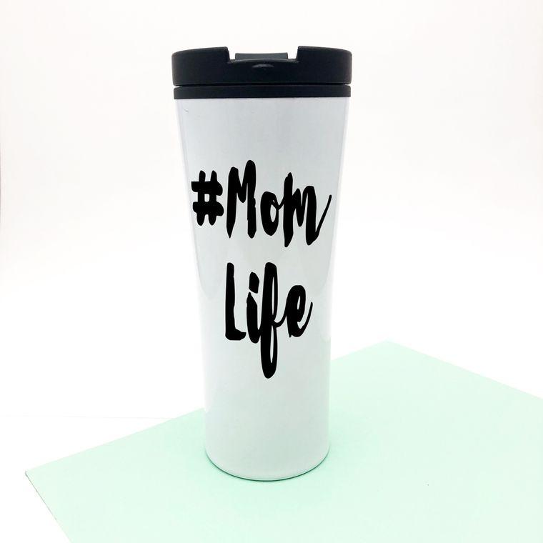 Mom Life Coffee Mug, Keeps Coffee Hot All Day.