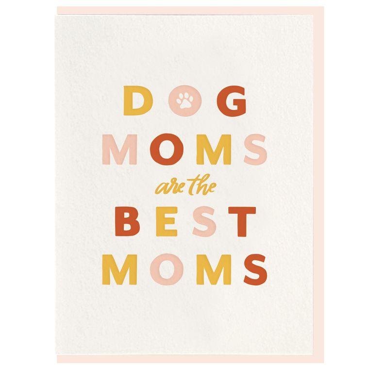 Dog Mom - Letterpress Card (Pre-order)