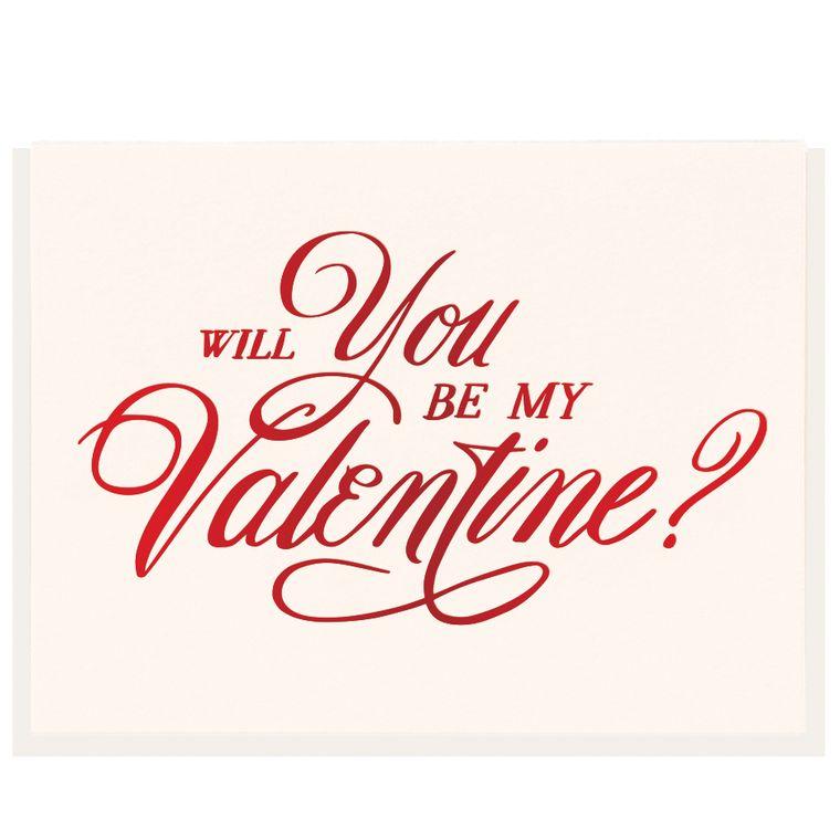 Be My Valentine - Foil Card (Pre-order)
