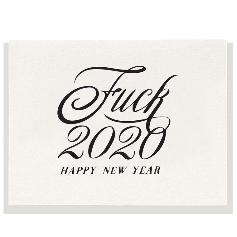 2020 - Letterpress Card (Pre-order)