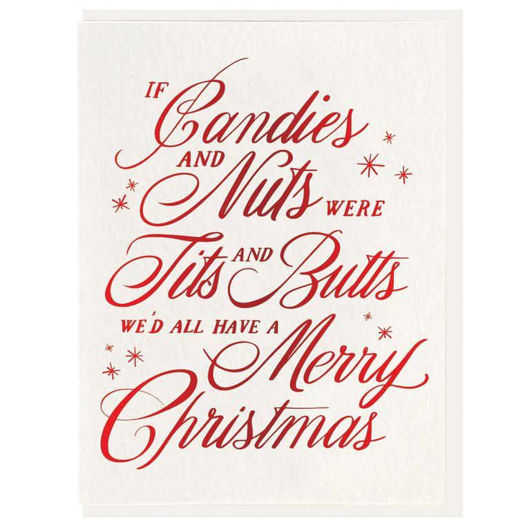 Candies & Nuts - Foil Card (Pre-order)