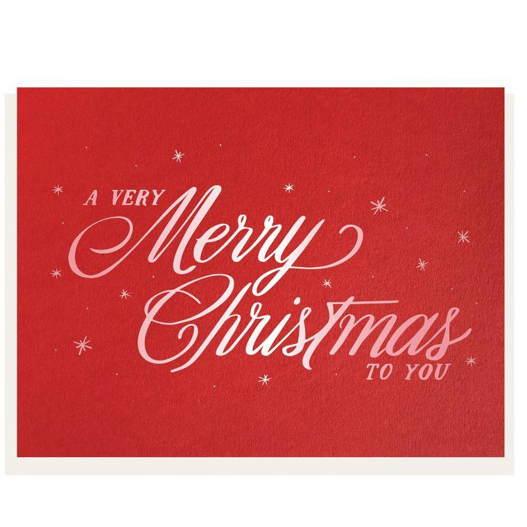 Very Merry - Foil Card (Pre-order)