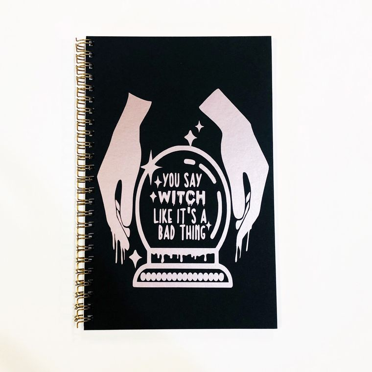 You say witch like it's a bad thing, fortune teller notebook.