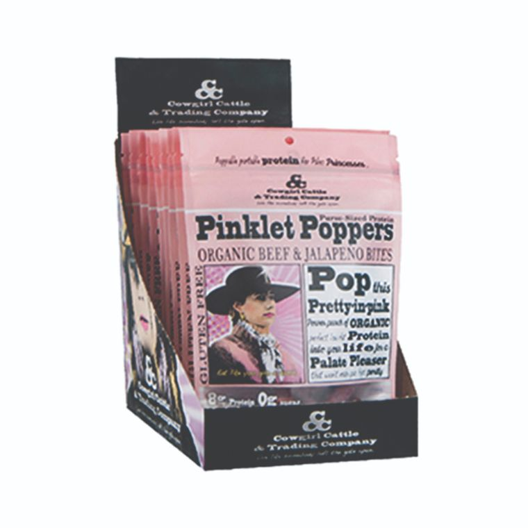 Pinklet Popper Organic Beef & Jalapeno Bites