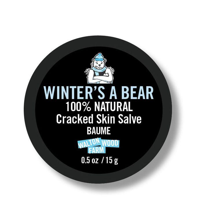 Winter's a Bear Cracked Skin Salve .5 oz