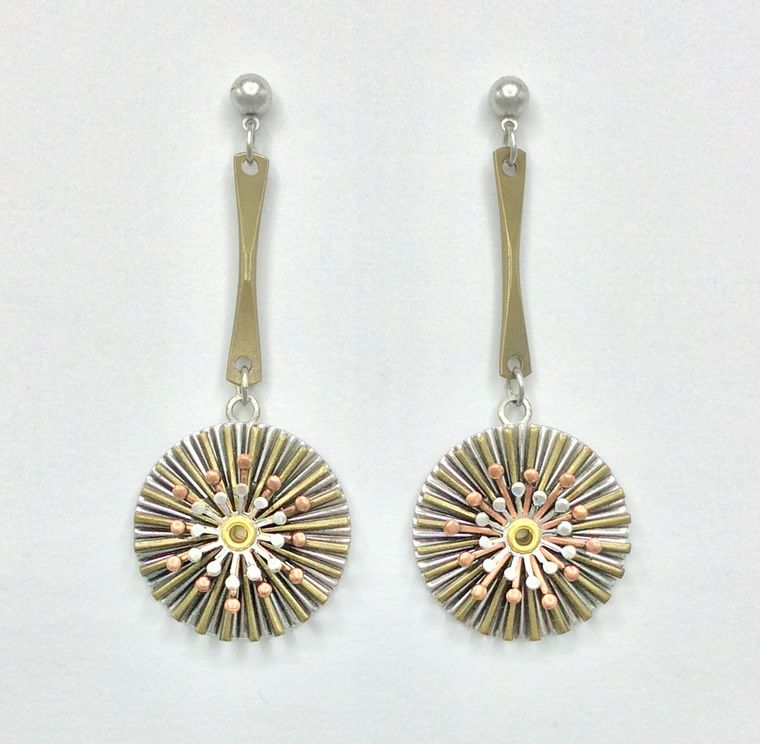 Mid Century Spinner Earrings