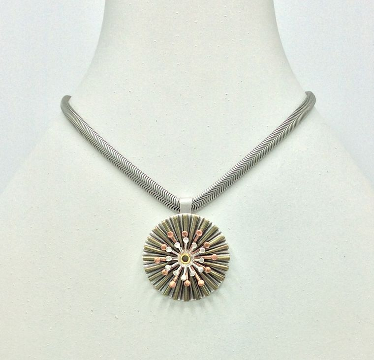 Mid Century Spinner Necklace