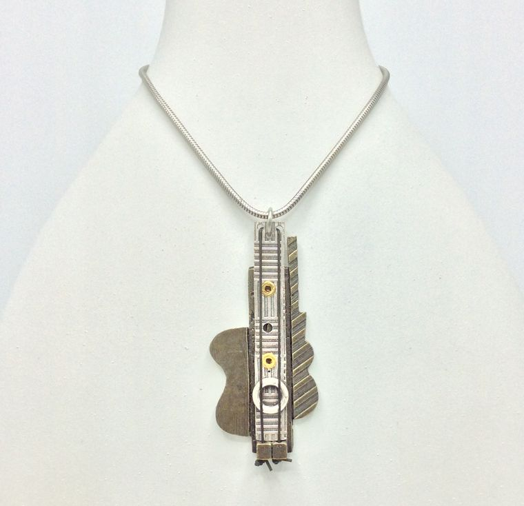 Picasso Guitar Necklace