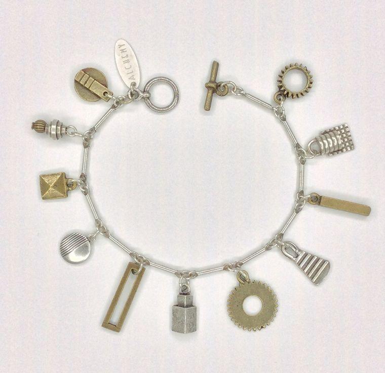 Industrial Charm Bracelet