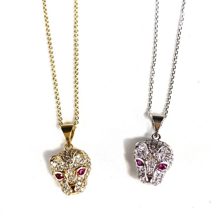 Jaguar Necklace-Silver