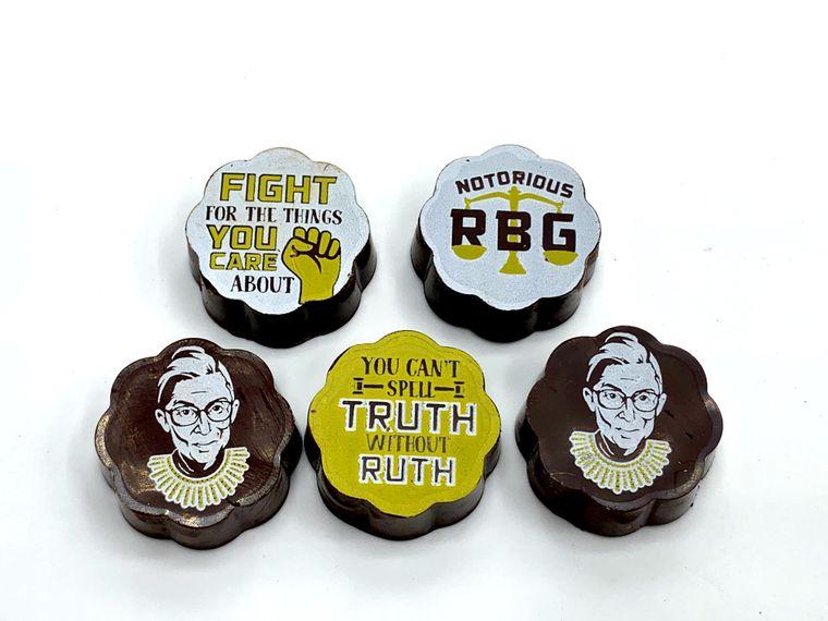 Ruth Bader Ginsburg Chocolates