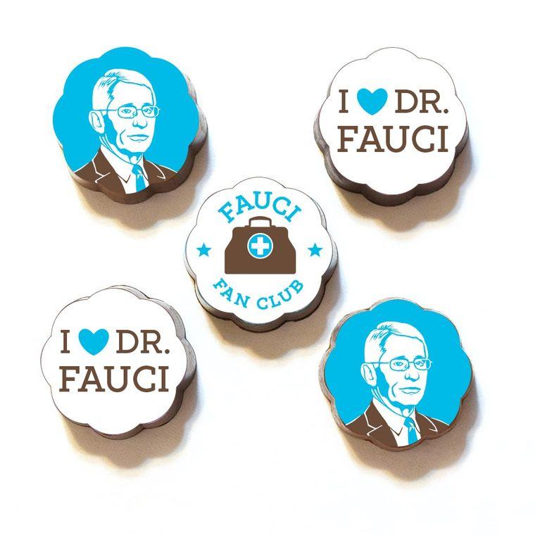 Dr. Fauci Fan Club Chocolates