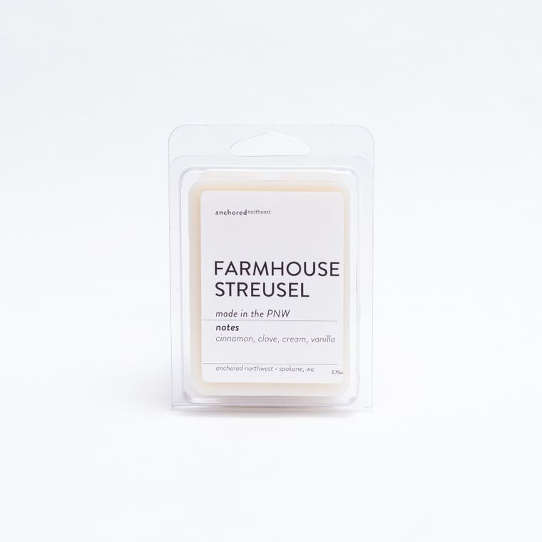 Farmhouse Streusel - Soy Wax Melt