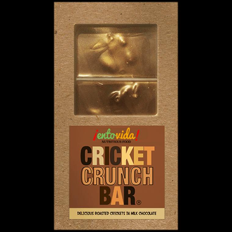 Cricket Crunch Bar - Milk Chocolate