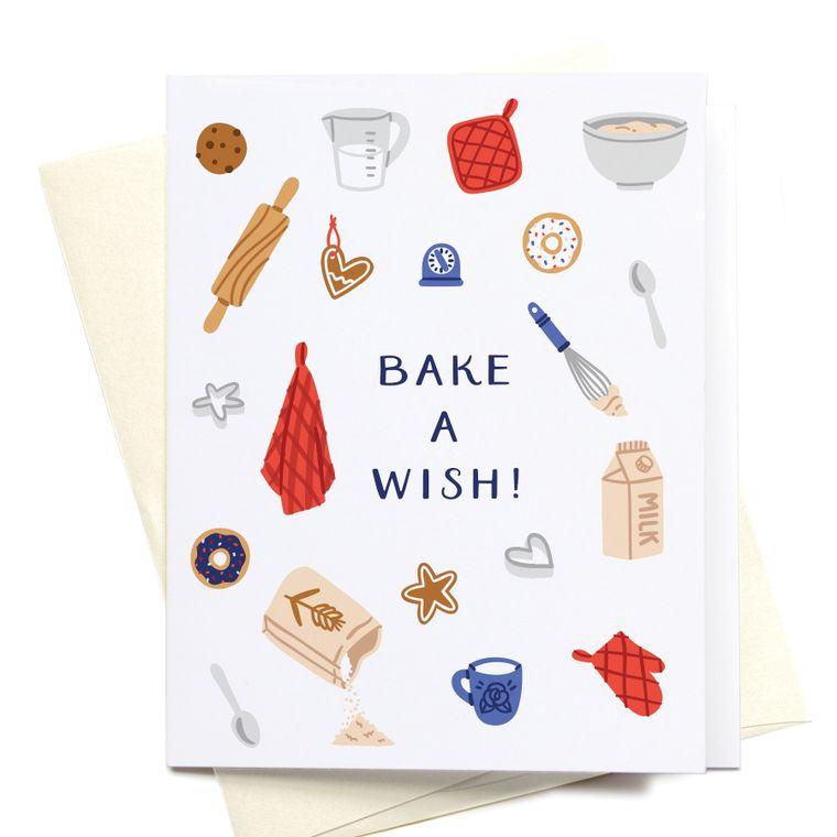 Bake a Wish! Greeting Card