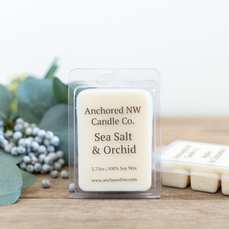 Soy Wax Melt - Sea Salt & Orchid