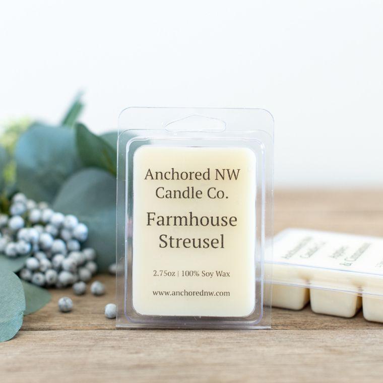 Soy Wax Melt - Farmhouse Streusel