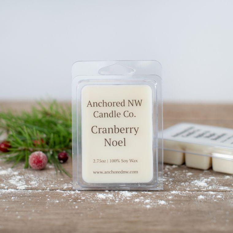 Soy Wax Melt - Cranberry Noel
