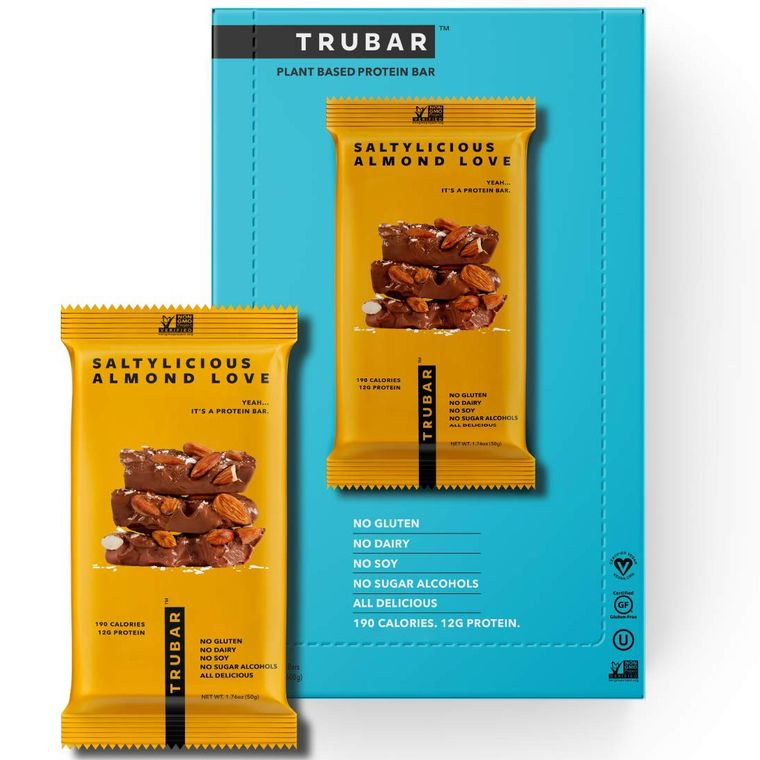 Saltylicious Almond Love TRUBar (12 ct)