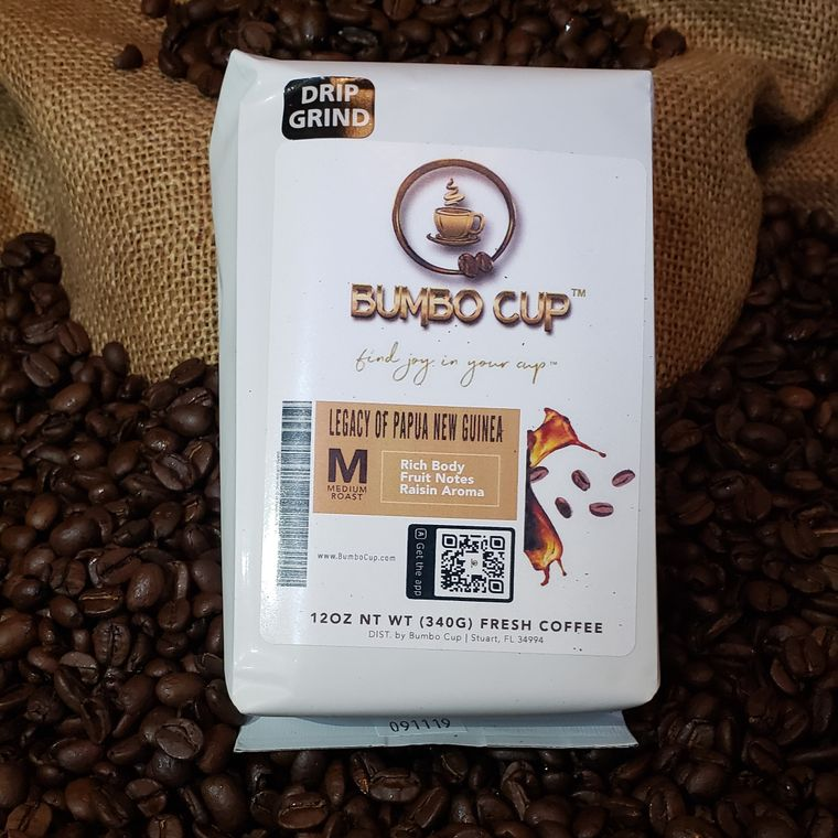 Coffee Beans 12oz pack.