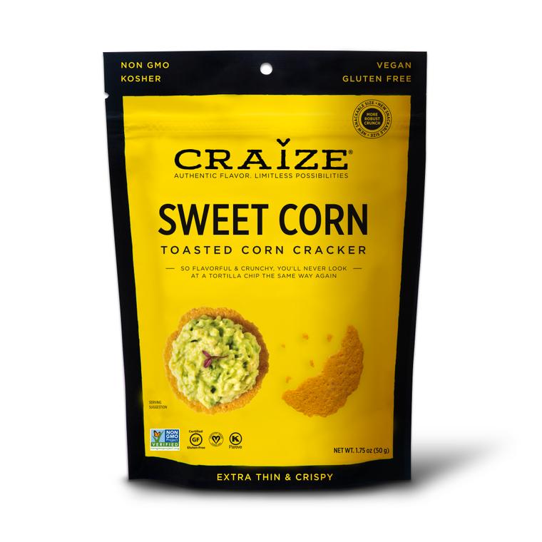 Sweet Toasted Corn Crackers 1.75oz