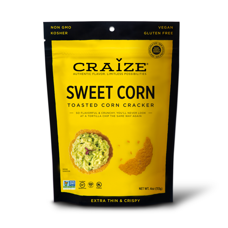 Sweet Toasted Corn Crackers 4oz
