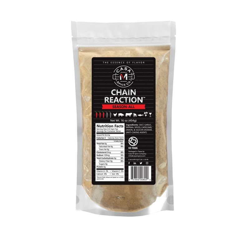 Casa M Spice Co® Chain Reaction® Season-All (Bulk Bag)