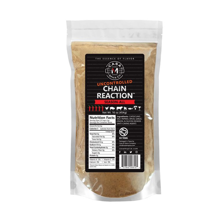 Casa M Spice Co® Uncontrolled Chain Reaction® Season-All (Bulk Bag)