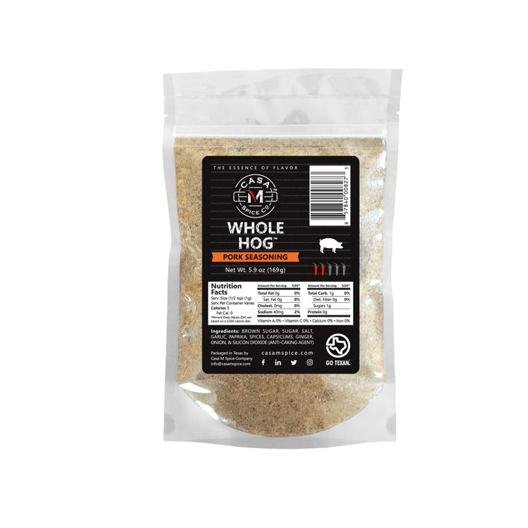 Casa M Spice Co® Whole Hog® Pork Seasoning (Refill Bag)