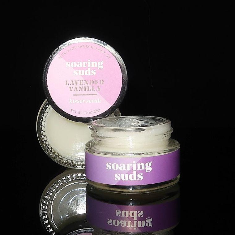 Lavender Vanilla Kisser Scrub
