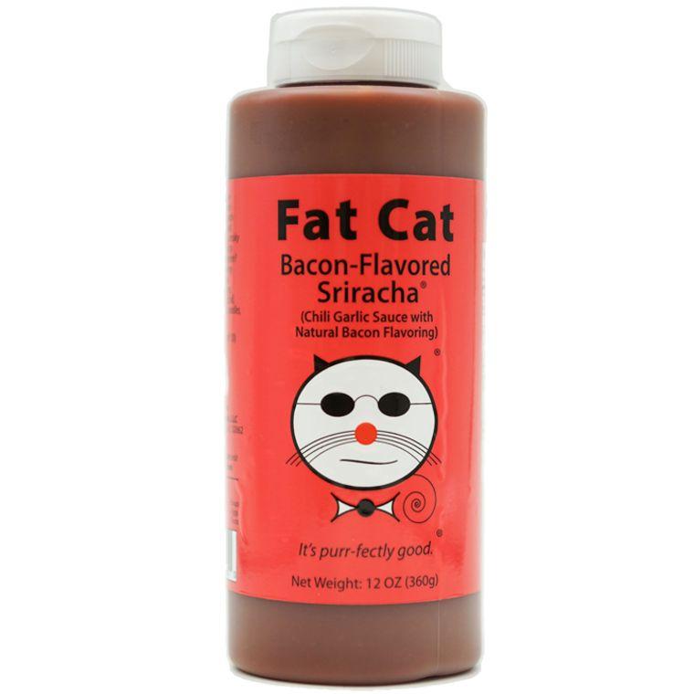Half Case - Bacon-Flavored Sriracha: Chili-Garlic Sauce with Bacon Flavoring