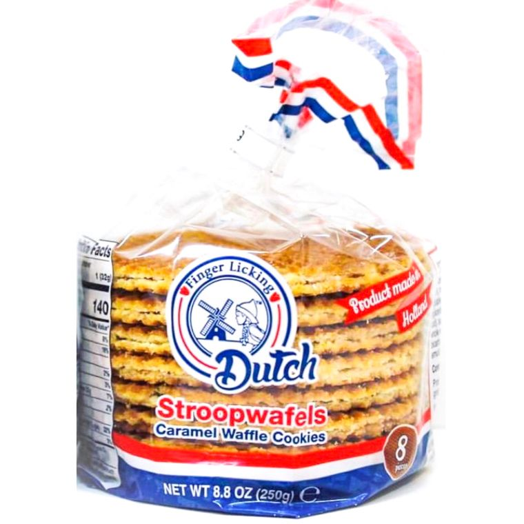 Caramel Stroopwafels 8-Pack