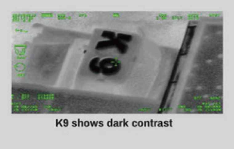 Building ID Markers for thermal and lowlight