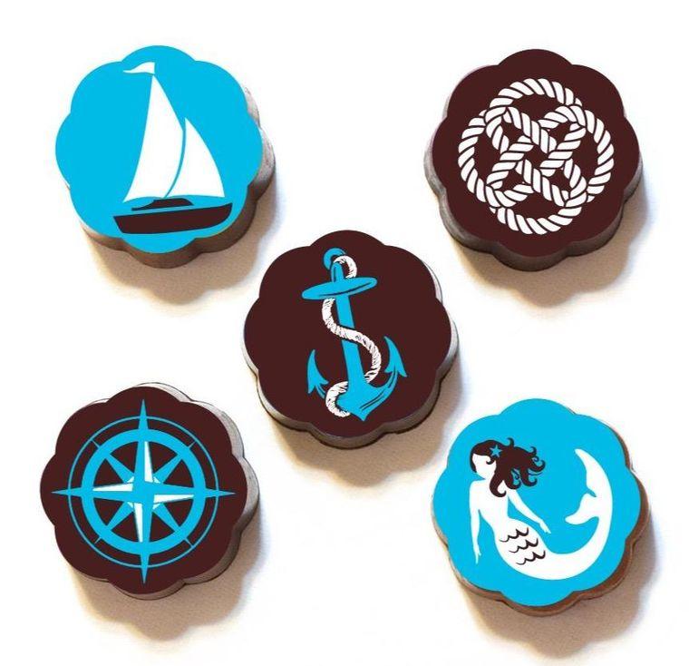 Nautical Chocolates